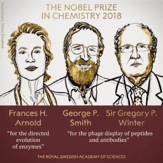 【2018諾貝爾化學獎】化學的(革命性)進化