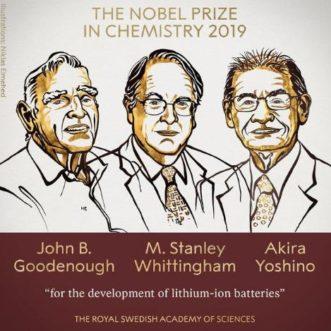 【2019諾貝爾化學獎】鋰離子電池