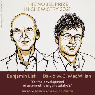 【2021諾貝爾化學獎】他們的工具帶給了建構分子的革命性發展
